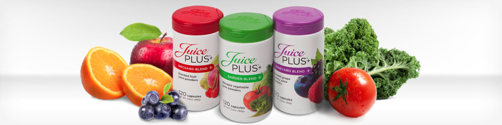 Juice Plus for healthly living.