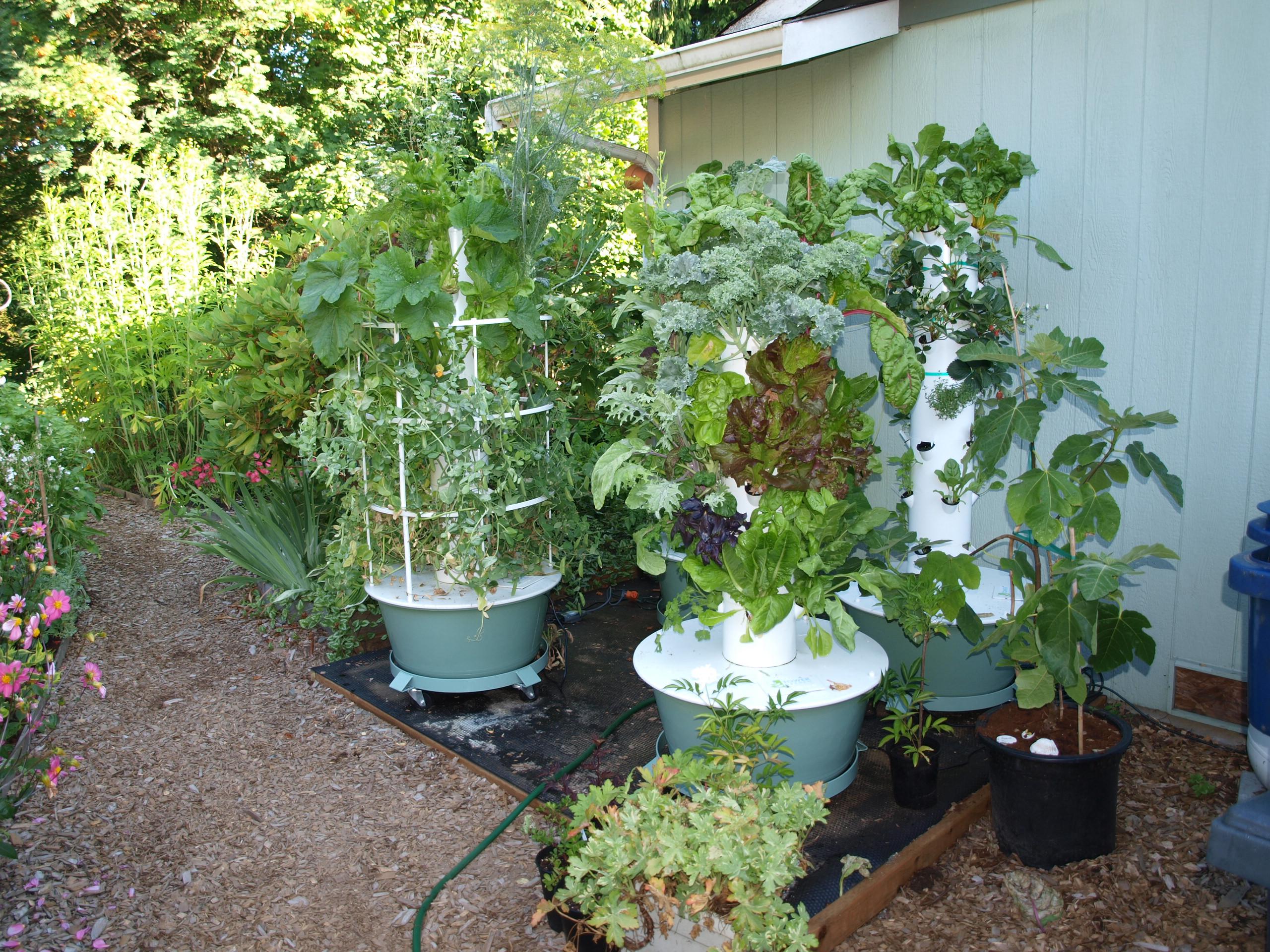 Tower Garden Urban Vertical Gardening