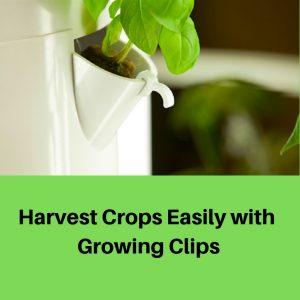 Growing Clips Tower Garden Vertical Gardening System
