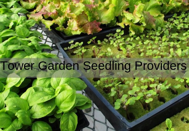 Tower Garden Vertical Garden Seedling Providers
