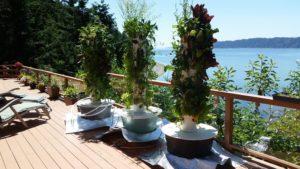 Vertical Garden Sun Reflector